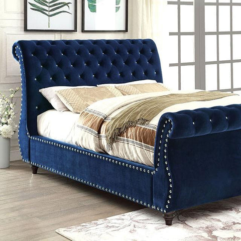 Furniture of America Noella Platform Bed IDF-7128NV Platform Bed Furniture of America