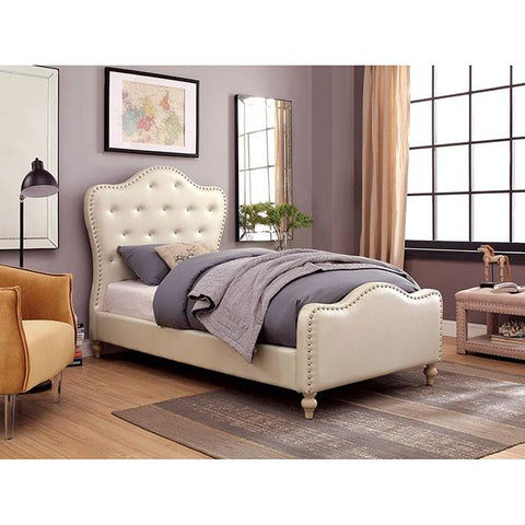 Furniture of America Sugar Platform Bed IDF-7884IV Platform Bed Furniture of America