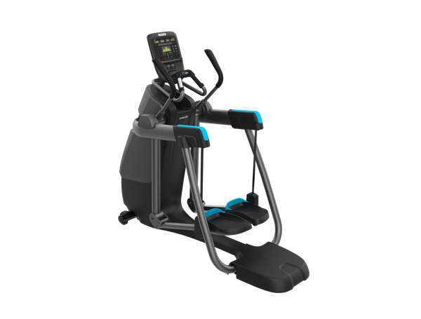 View all Precor Adaptive Motion Trainers for home gyms - AMT 835 with P31 console shown