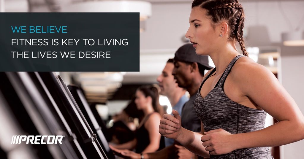 We believe fitness is key to living the lives we desire
