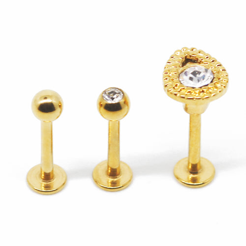Gold Vintage Piercing Set - Shop Cameo Ltd