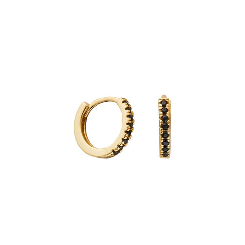 Imogen Gold & Black Midi Huggies - Shop Cameo Ltd