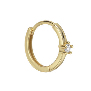 Charlotte Conch Hoop Gold - Shop Cameo Ltd