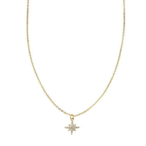 Marilyn Stardrop Necklace Gold - Shop Cameo Ltd