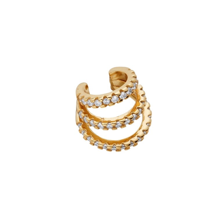 Bella Gold Ear Cuff - Shop Cameo Ltd