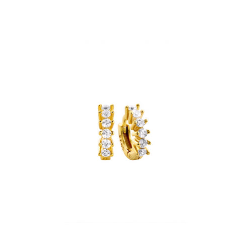 Minnie Huggie Gold Earrings - Shop Cameo Ltd
