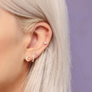 Phoebe Moon Stud Earrings
