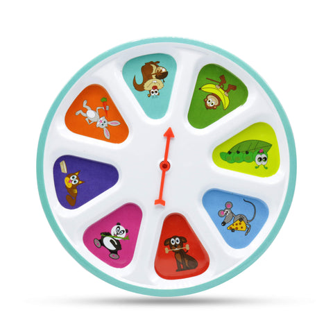 Spin Meal Plate - Kids plate - Pay to eat - eat to play