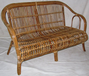Cane Oz Chair Natural - 2.5 Seater