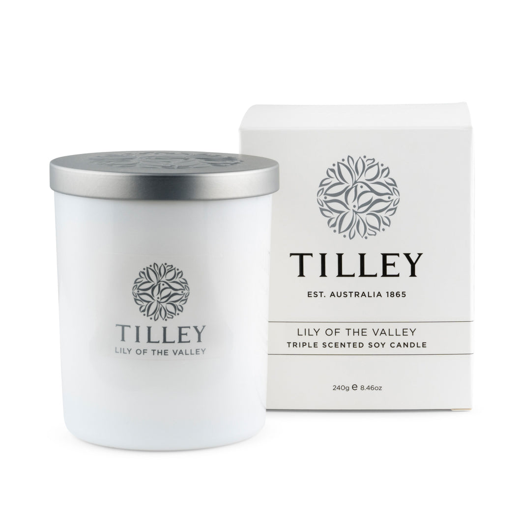 Lilly Of The Valley Soy Candle
