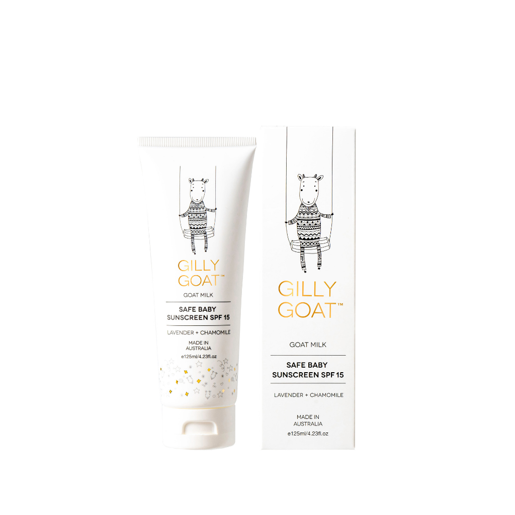 Gilly Goat - Safe Baby Sunscreen SPF15