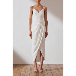 Core Cocktail Dress- Ivory
