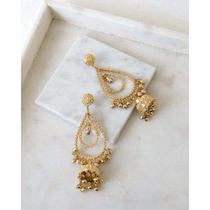 Purvian Rain Dance Earrings
