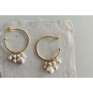 Brooke | Fresh Water Pearl Statement Earrings