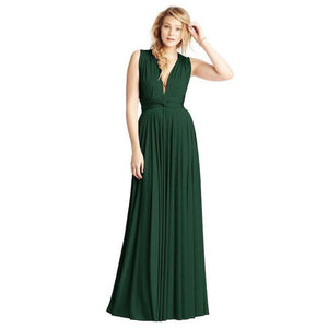 Convertible Ballgown Forest Green