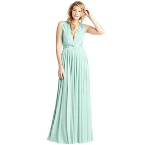 Convertible Ballgown In Mint