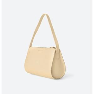 The Hug | Cream | Leather Shoulder Bag