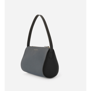 The Hug | Black | Leather Shoulder Bag