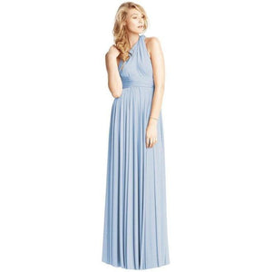Convertible Ballgown In Light Blue