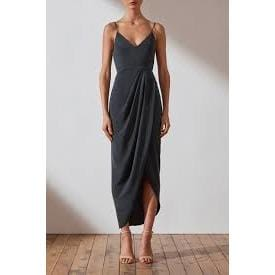 Core Cocktail Dress | Charcoal | Shona Joy