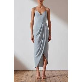 Core Cocktail Dress | Powder Blue | Shona Joy