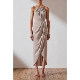 Copy of Core High Neck Ruched Dress | Shona Joy | OYSTER