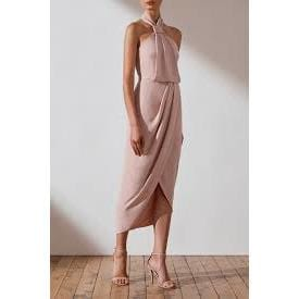 Core Knot Draped Dress | Ballet | Shona Joy