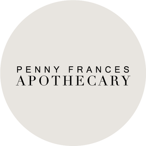 Penny Frances Apothecary wildcrafted products available at Unbridled Courtenay, BC