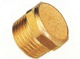 Button silencer (Brass)