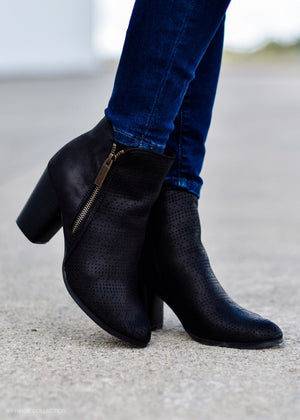 BLACK BEAUTY BOOTIE--FINAL SALE