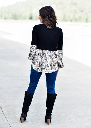 ALL ABOUT THE PRINT TUNIC