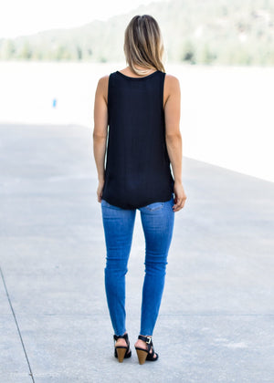 SIMPLY CHIC TANK BLACK