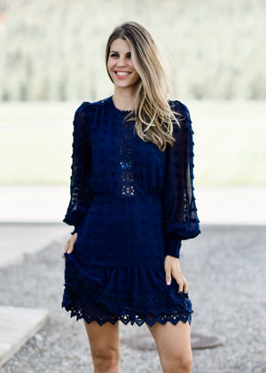 READY TO PARTY: NAVY--FINAL SALE