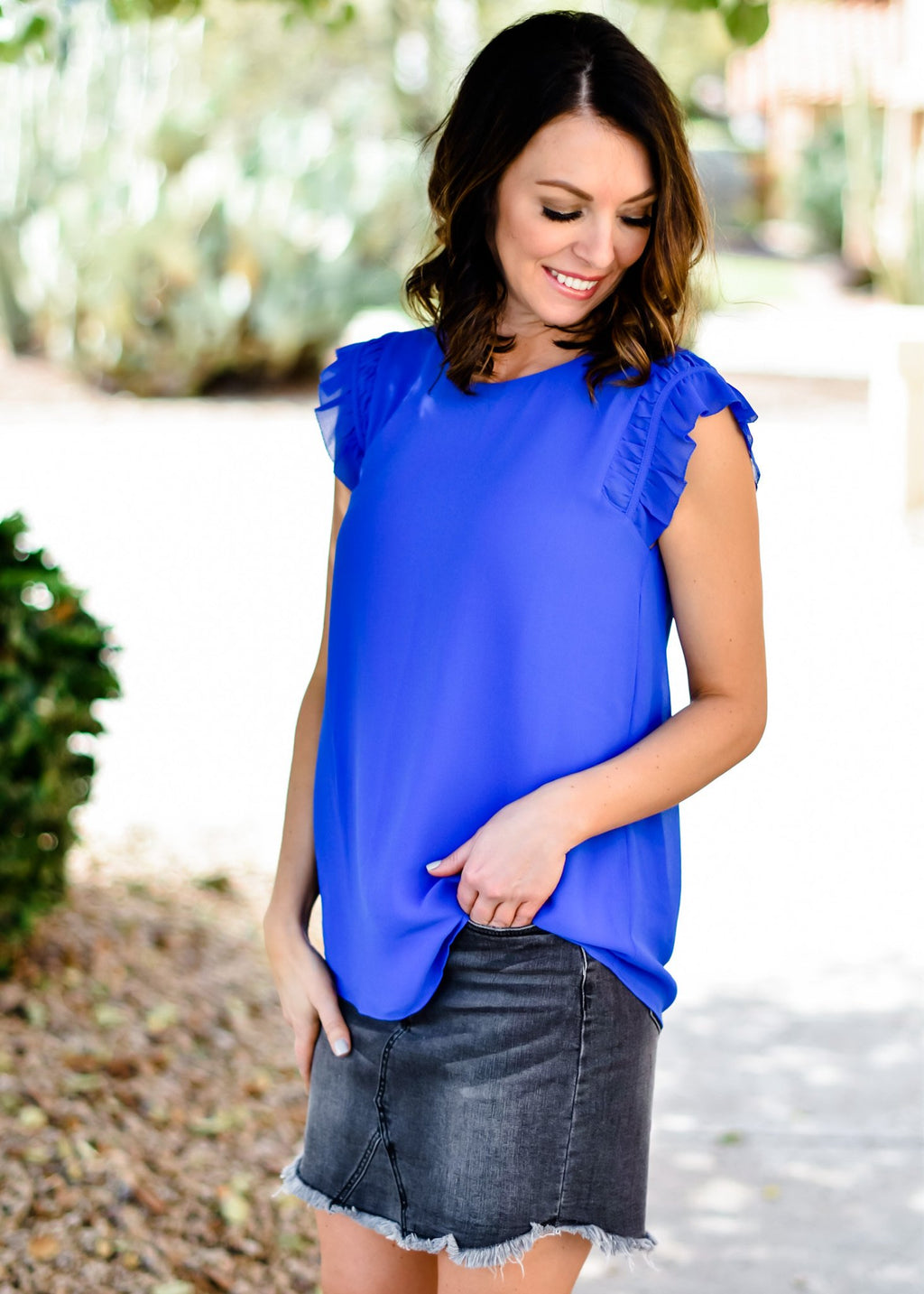 EASY MORNING BLOUSE: CAPRI