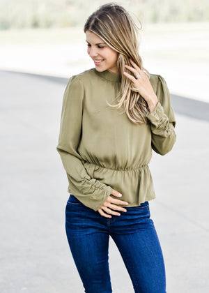 HIGH RISE STYLE: OLIVE