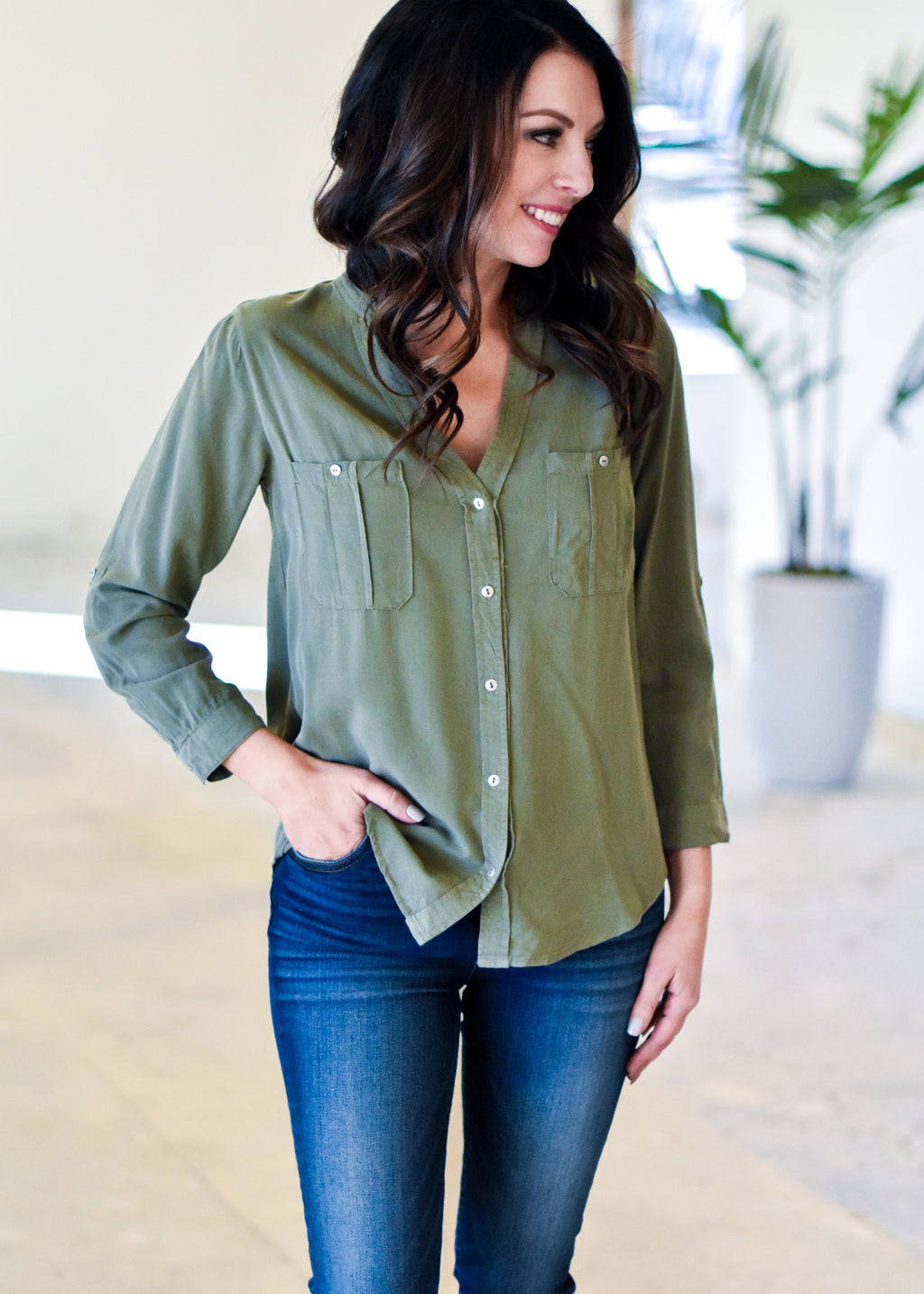 SO SO CASUAL: OLIVE