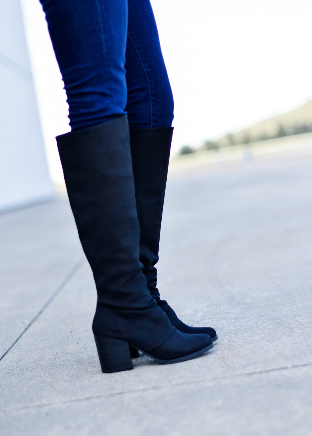 STRUT YOUR STUFF BLACK BOOT--FINAL SALE