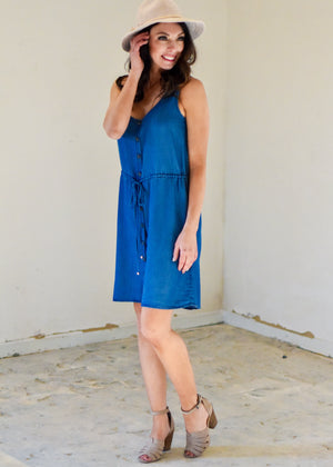SUMMER WISHES TENCEL DRESS