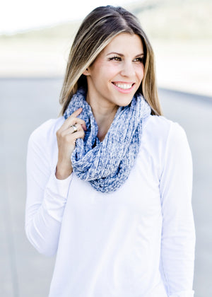 So Soft Chenille Scarf: Grey