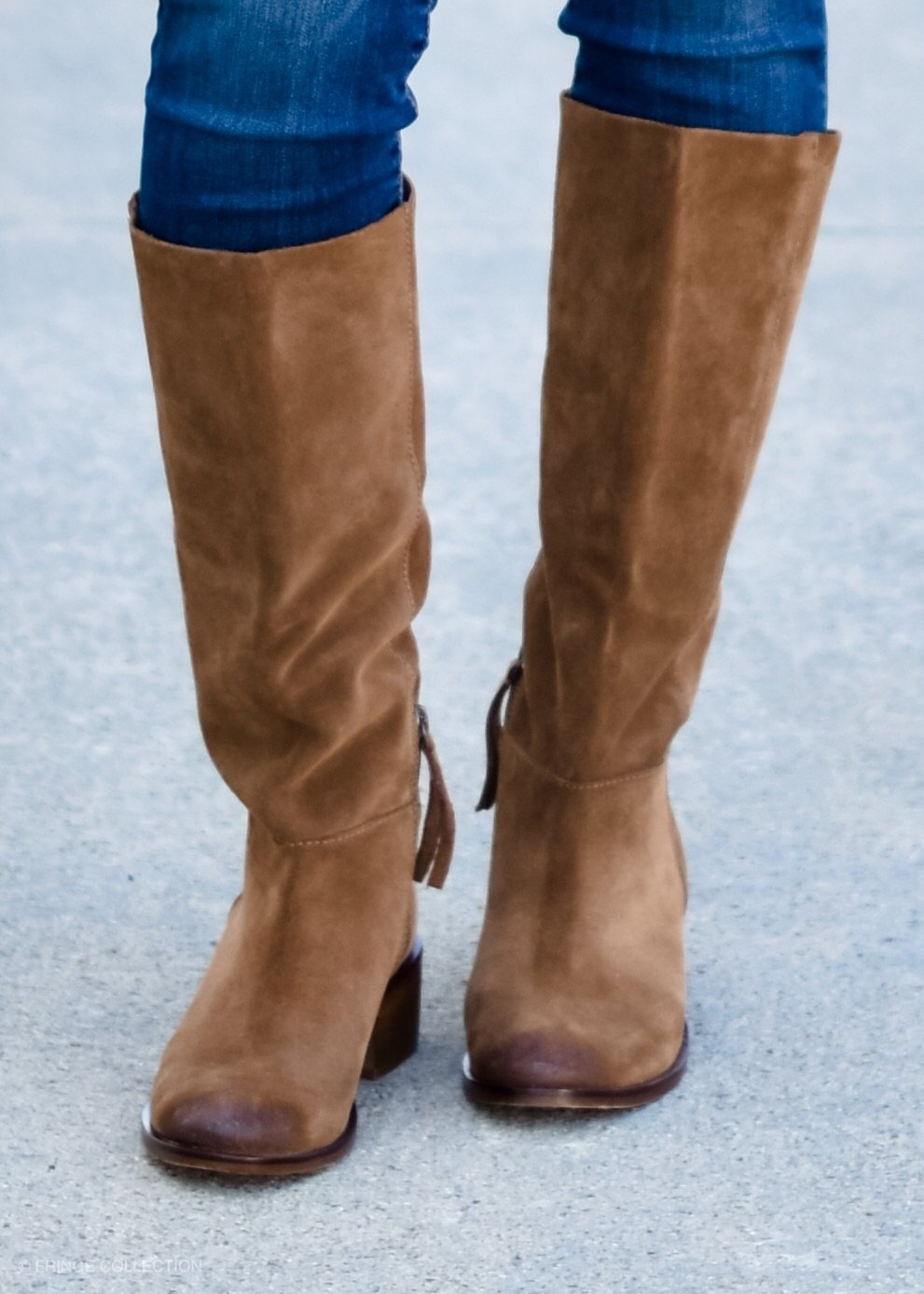 Take Me Away Tan Boots--FINAL SALE