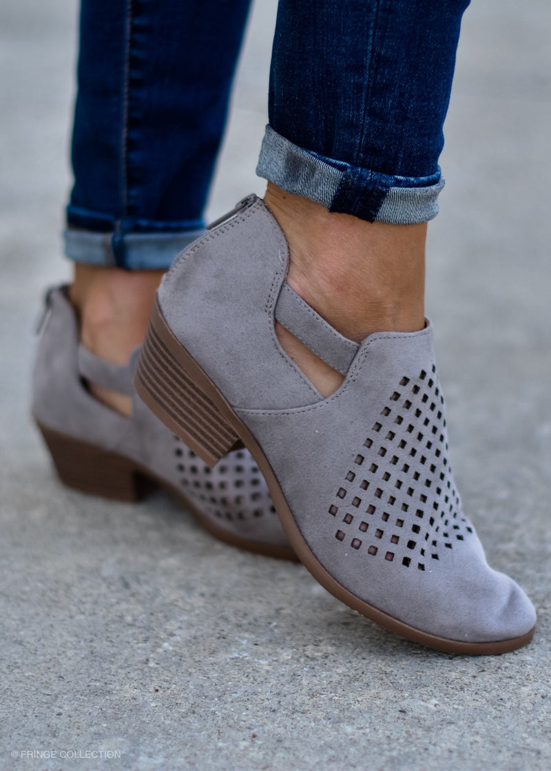 Diamond Envy Short Bootie--FINAL SALE