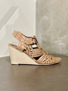 Noted Nude Wedge Sandal