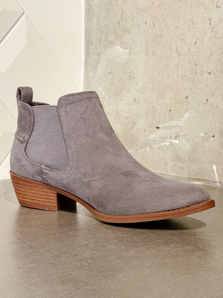 Style and Stretch Steel Bootie
