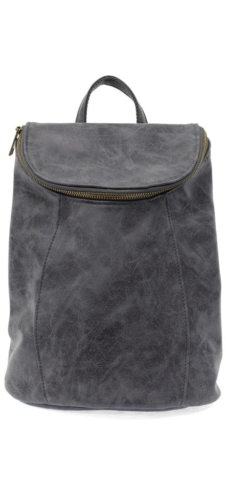Distressed Backpack:Indigo