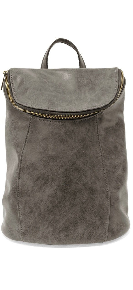 Distressed Backpack:Grey