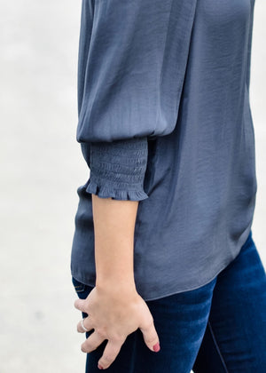 CITY CHIC: GREY--FINAL SALE