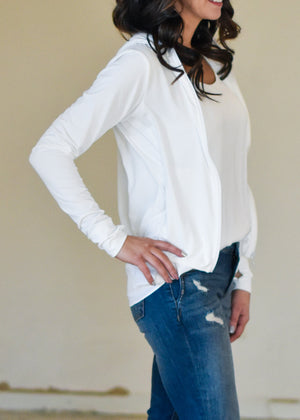 EASY WEAR JACKET: WHITE
