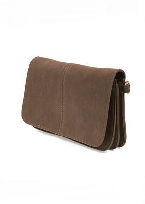 MULTIBODY CROSSBODY: BROWN