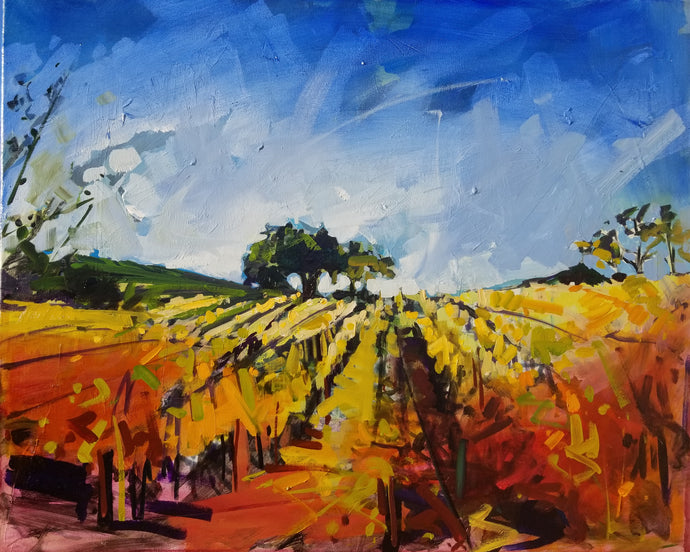 Vibrant Vines | 24x30 | SOLD - PRINTS AVAILABLE