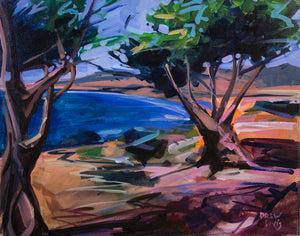 SAN SIMEON COAST | 16x20 | Original Acrylic Study on Canvas